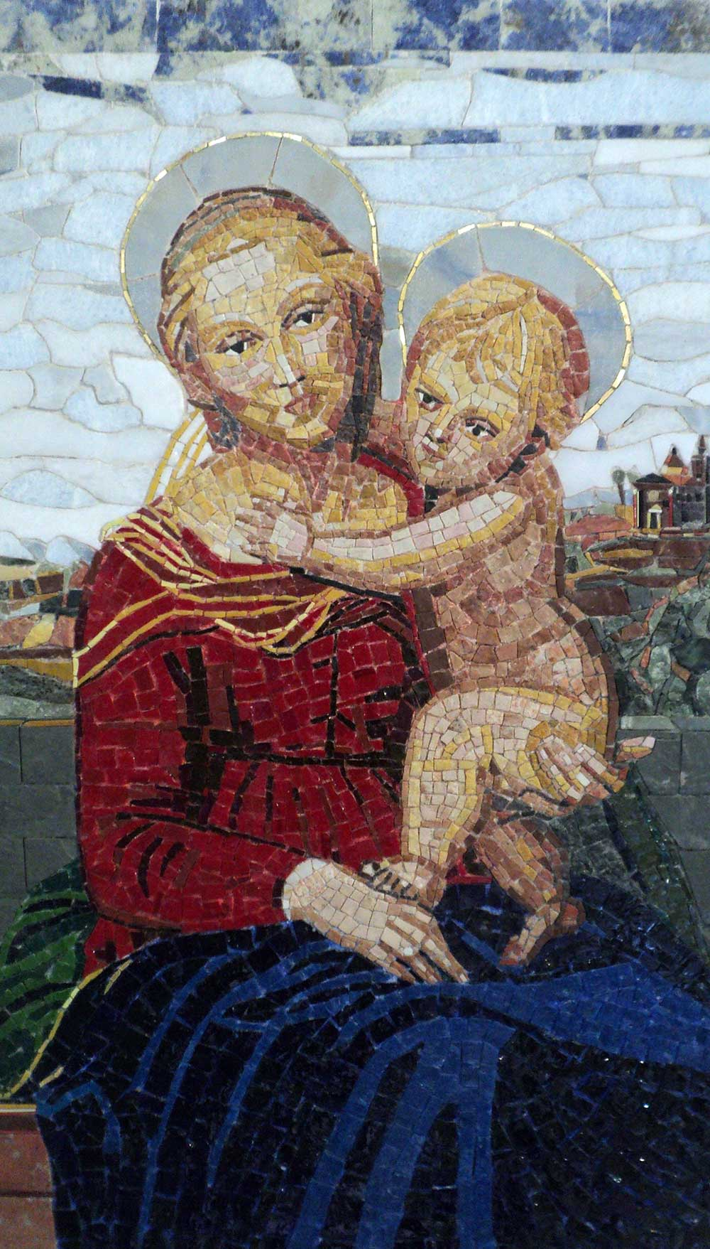 mosaico arte sacra