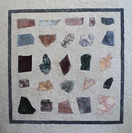 tavolo mosaico commesse pietre dure