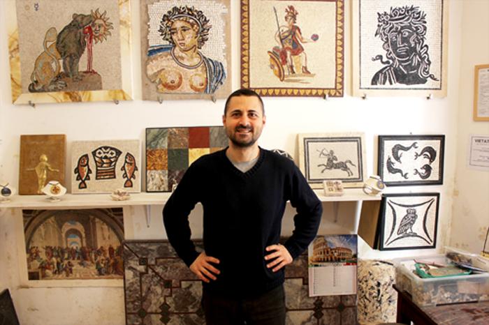 Laboratorio fabio bordi mosaici artistici